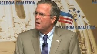 Jeb Bush Claims He Doesn