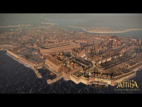 SIEGE OF CONSTANTINOPLE - Total War: Attila