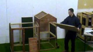 How To Build A Chicken Coop / Hen House By Cconly