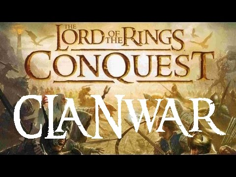Lord of the Rings Conquest – Clanwar: LC vs WBA [HD]