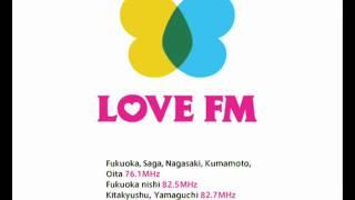 """北部九州を対象としたLove FMの天気予報、""""Love FM Weather""""です。"""