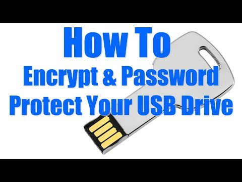 How To Encrypt & Password Protect Your USB Drive