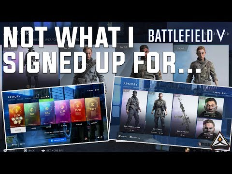 How is this a thing? - Battlefield 5 Microtransactions are terrible