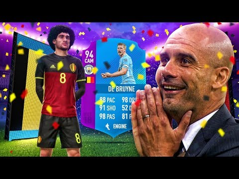 94 PREMIER LEAGUE SBC KEVIN DE BRUYNE! THE BEST MIDFIELDER IN EUROPE?! FIFA 18 ULTIMATE TEAM
