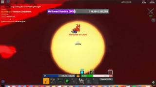 Roblox Monster Island Halloween [ Defeating all Bosses ]