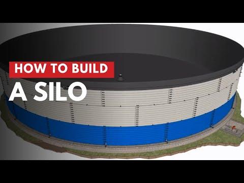 Hoe bouw je een silo?