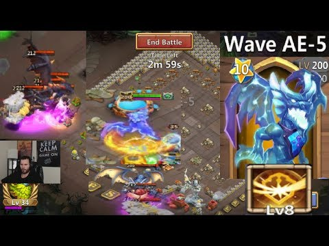 Lavanica SOLO Against HBM AE Survival Talent Castle Clash
