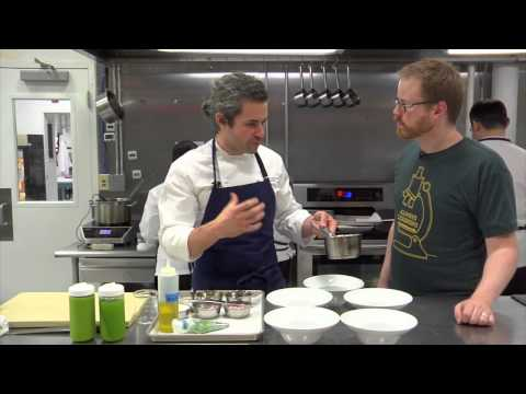 Inside the Modernist Cuisine Kitchen: Elote and Pistou