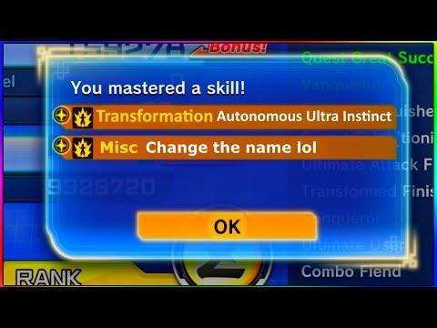 """Autonomous Ultra Instinct"" | Dragon Ball Xenoverse 2"