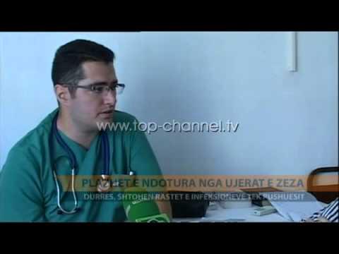 Plazhet e ndotura nga ujërat e zeza - Top Channel Albania - News - Lajme