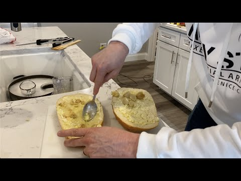 Making the BEST slow roasted garlic bread you'll ever have