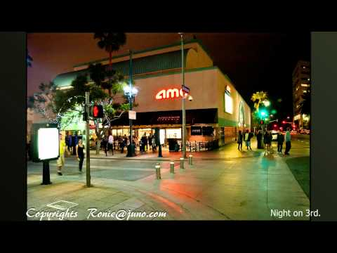 Nikon D90 and Sigma 17-70,  Santa Monica California, One night on 3rd.