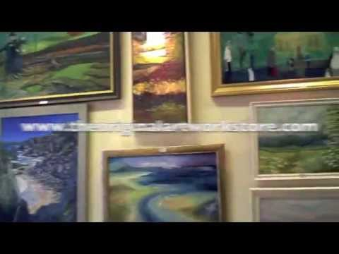 The Original Artwork Store Gallery, Malvern Worcestershire