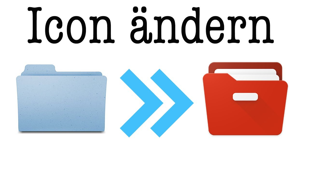 Datei / Ordner Icon ändern - Mac OS - YouTube
