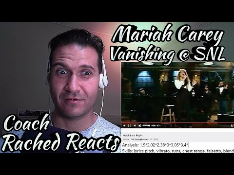 Vocal Coach Reaction + Analysis - Mariah Carey - Vanishing SNL Rehearsal