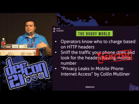 DEF CON 21 - Bogdan Alecu - Business logic flaws in mobile o