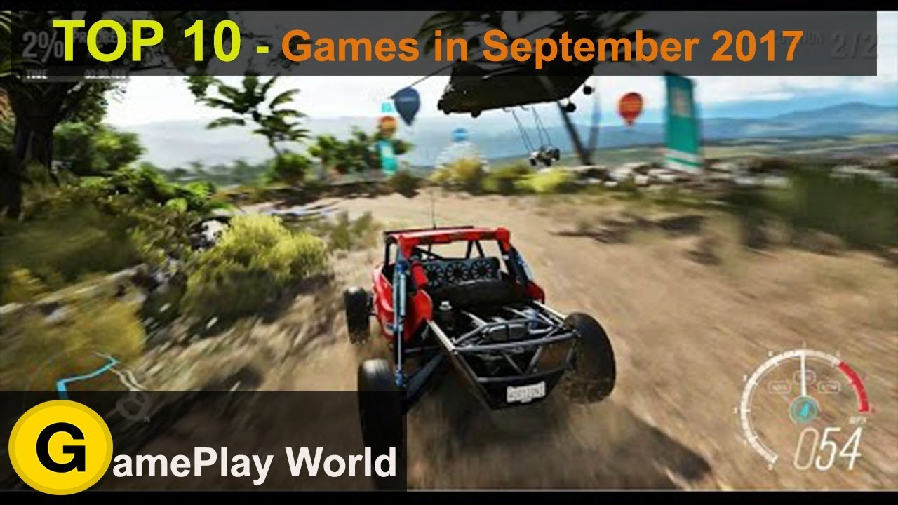 Top Upcoming Games In September 2017 Ps4 Games Pc Games