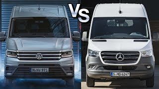 Мерседес Спринтер 2018 vs Фольксваген Крафтер 2018 || Mercedes Sprinter 2018 vs Volkswagen Crafter