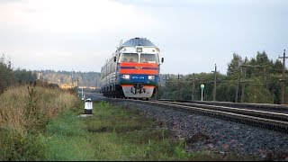 Дизель-потяг ДР1А-294, перегін Пруди - Залісся БЧ