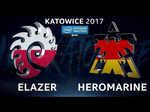 StarCraft II - Elazer vs. HeroMarine [ZvT] - B2 Upper Qualifier - IEM Katowice 2017