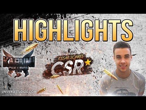 CSR* - Resumo KabuM Challenge CS:GO #01 (PIPOCANDO GAMES)