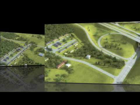 Fayetteville Nc 3d Visualization Of I 295 At Murchison Road Youtube