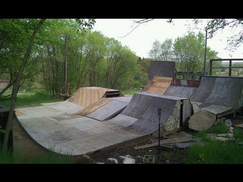 My Backyard SkatePark 2012 - My Backyard SkatePark 2012 - YouTube
