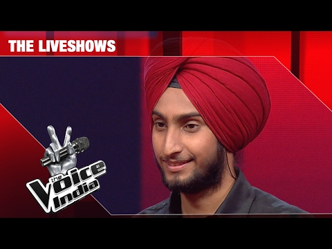 Parakhjeet Singh - Hoshwalon Ko Khabar Kya | The Liveshows | The Voice India S2