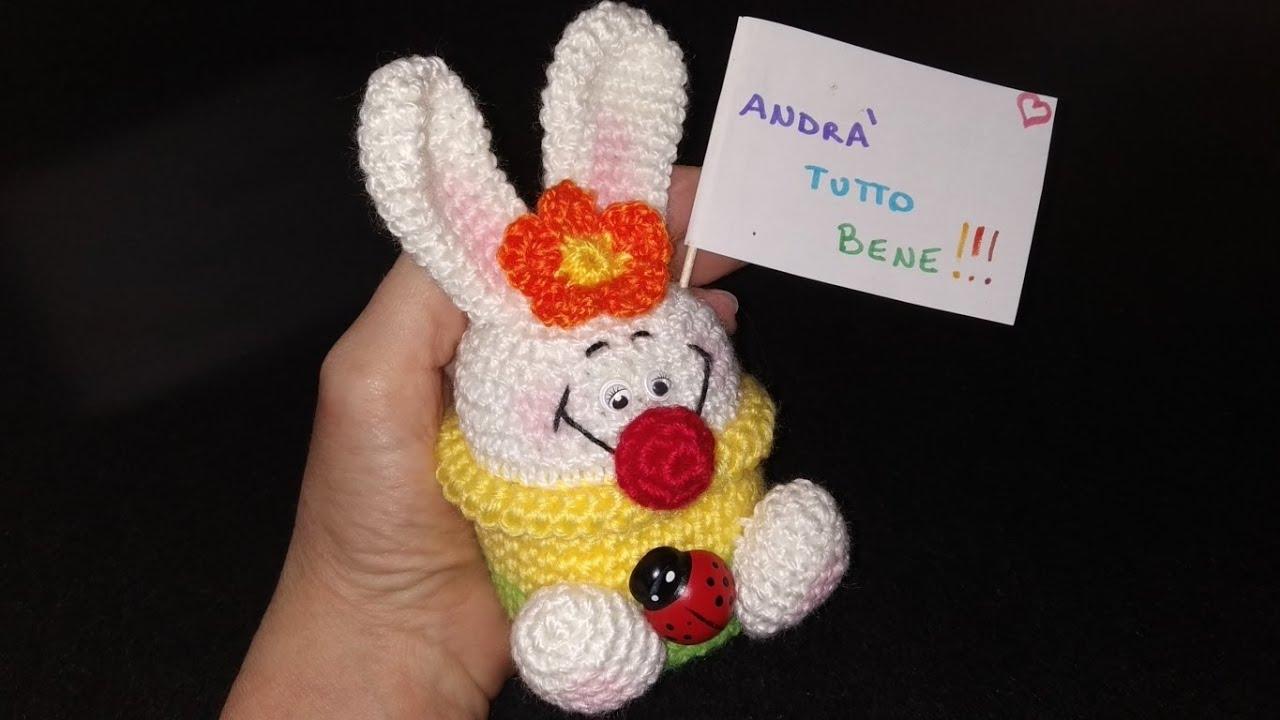 Free Crochet Amigurumi Bunny Cupcake Pattern | 720x1280