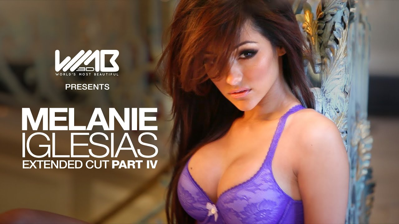 Melanie Iglesias Is Looking Sexy As Hell In Some Purple Lingerie