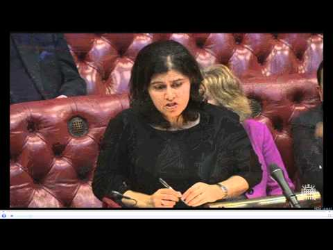 Baroness Warsi Lords 1984 Amritsar statement + questions - 4 Feb 2014