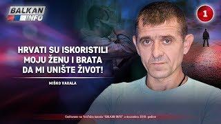 INTERVJU: Miško Vagala - Hrvati su iskoristili moju ženu i brata da mi unište život! (19.12.2019)