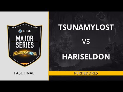 HS - Tsunamylost vs. HariSeldon - Perdedores - ESL Major Series Hearthstone Finals