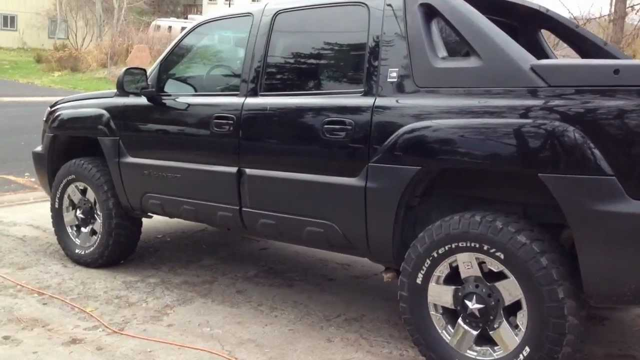 Avalanche chevy avalanche 33 inch tires : Avalanche North Face Edition - YouTube