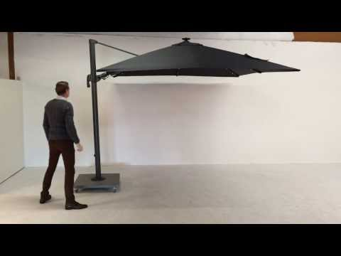Palermo parasol with LED demo