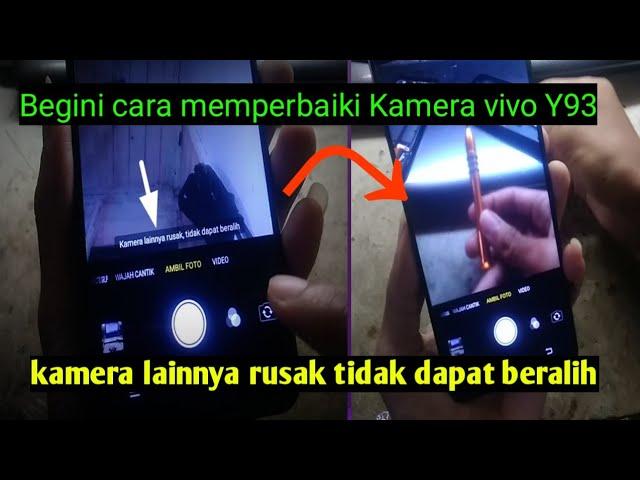 cara perbaiki kamera lainnya rusak