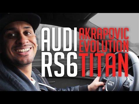 JP Performance - Audi RS 6 C7 | Akrapovič Evolution Titan Klappenabgasanlage