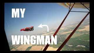I FLY my Kitfox next to a WINGSUIT! I get an actual WINGMAN!