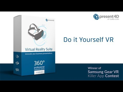 Virtual Reality Suite - easily create professional VR presentations