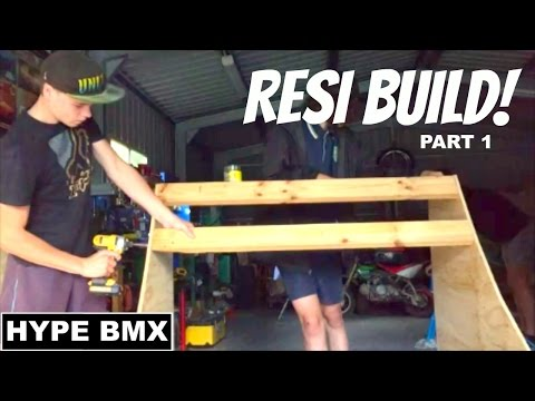 DIY $200 BUDGET BMX RESI | Part 1