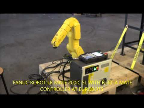 FANUC ROBOT LR MATE 200iC 5L con Controller R 30 iA MATE  in EUROBOTS