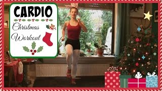 10 Minutes of Intense Cardio to Burn Xmas Fat //Christmas Edition