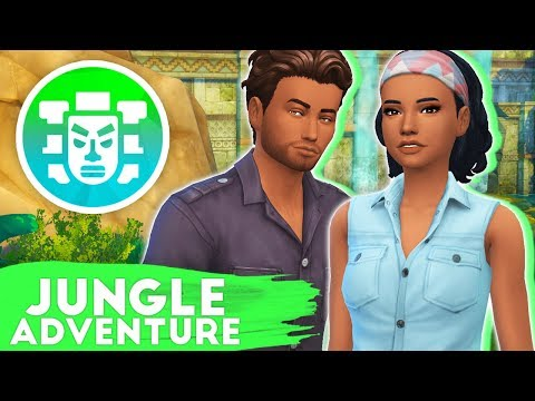 ALLIGATORS AND LIZARDS!🐊🦎 // THE SIMS 4 | JUNGLE ADVENTURE #4