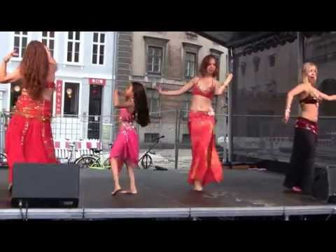 Oriental Dance in Wonderful Copenhagen 1/ - Zilzaal: (Earth Quake)