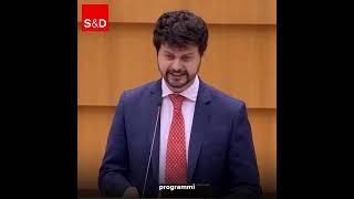 Intervento in Plenaria di Brando Benifei, capodelegazione PD, sul programma per il mercato interno.