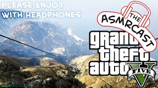 ASMR GTA V - Walking The Mount Chiliad Tourist Trail & Parachuting Off The Top!