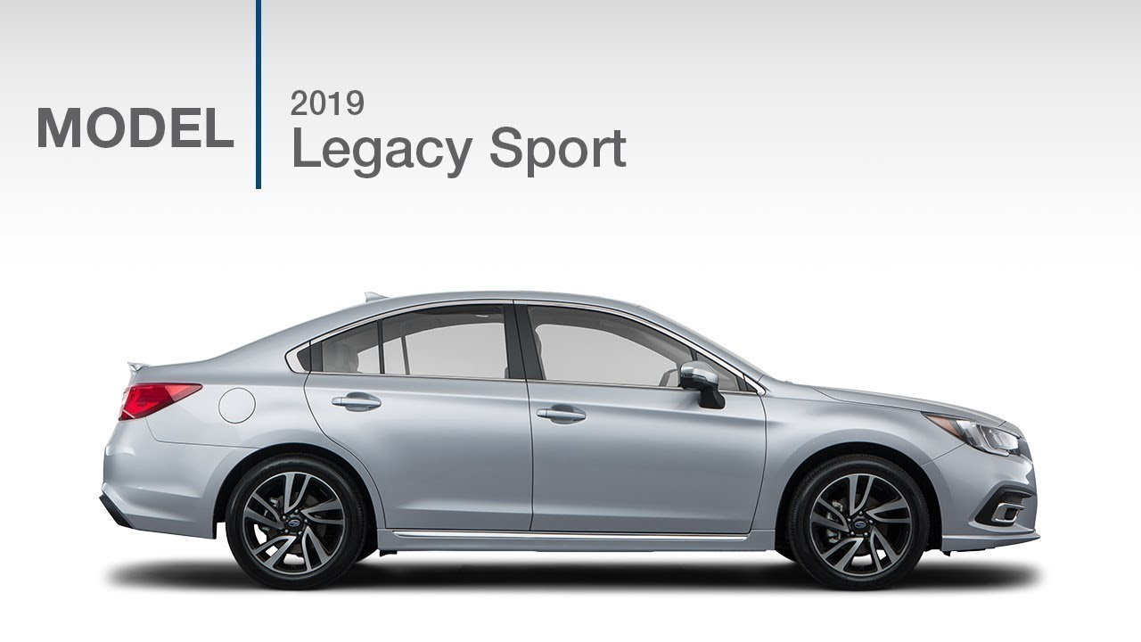 2019 Subaru Legacy 2.5i Sport   Model Review - YouTube