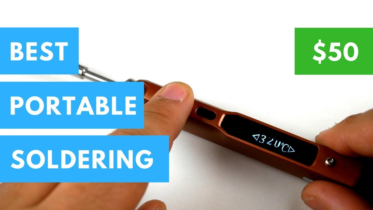 Mini TS100 Portable Soldering Iron // Update Video