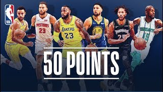 Every 50-Point Game So Far This NBA Season (LeBron, Steph Curry, Derrick Rose and More!)