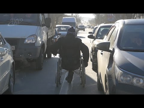 Попрошайничество на дорогах Невинномысска